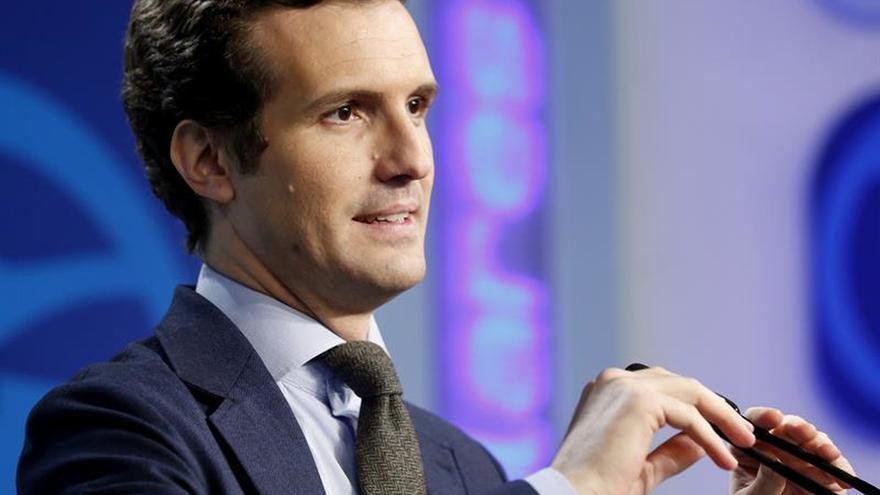 Pablo Casado, portavoz del Partido Popular