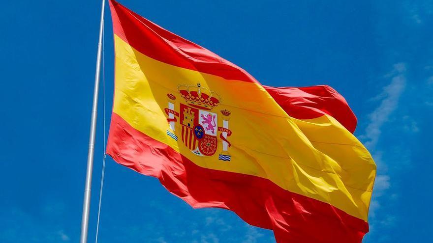 Bandera española. (DP).