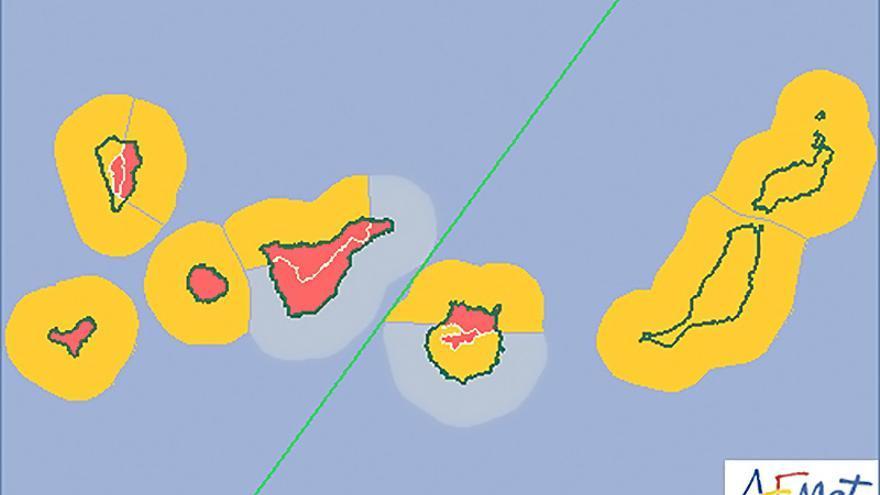 Mapa de la Aemet para este viernes, 28 de noviembre de 2014.