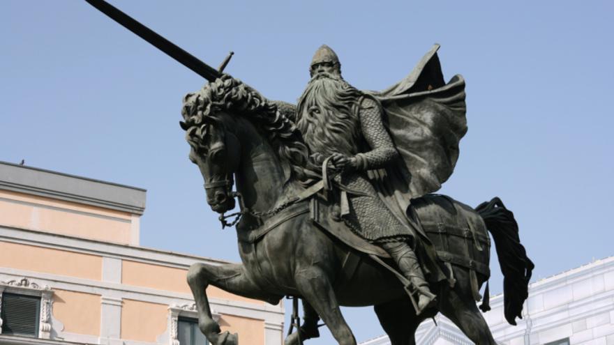 Estatua del Mío Cid.