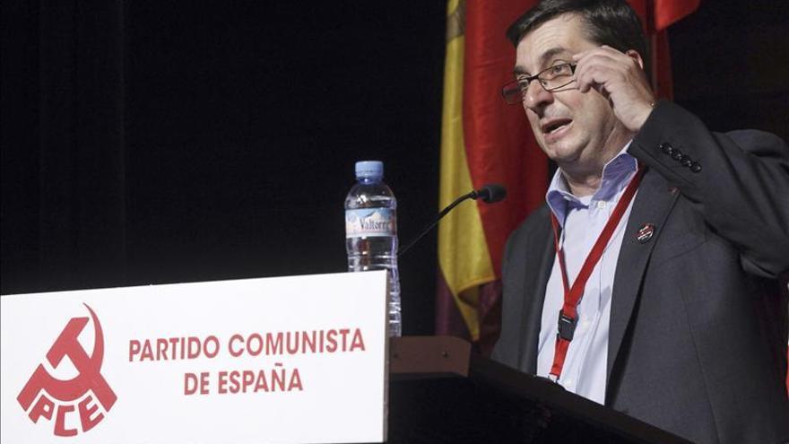Centella ve aciertos y errores en el PCE y destaca el aporte de ideas del 15M