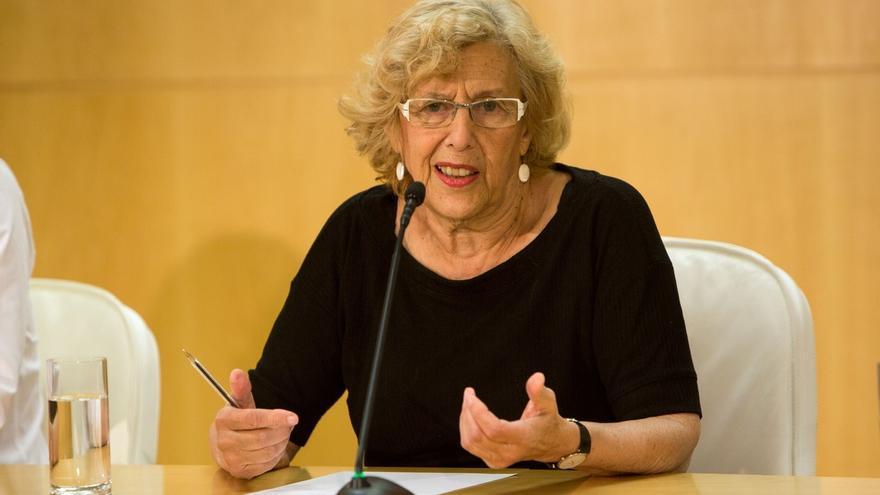 Carmena ofrece la experiencia del Ayuntamiento si se opta por formar Gobierno con un proyecto con presencia ciudadana