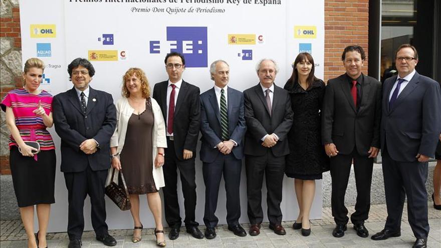 Comienza la entrega de los Premios de Periodismo Rey de España