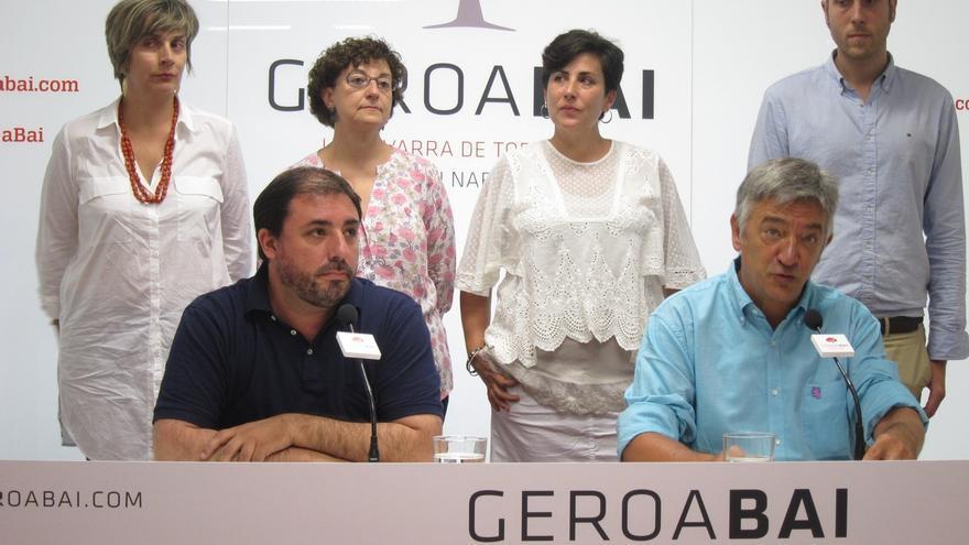 """Geroa Bai pide a UPN un """"mínimo rigor analítico"""" sobre el Gobierno y """"deje a un lado sus obsesiones"""""""