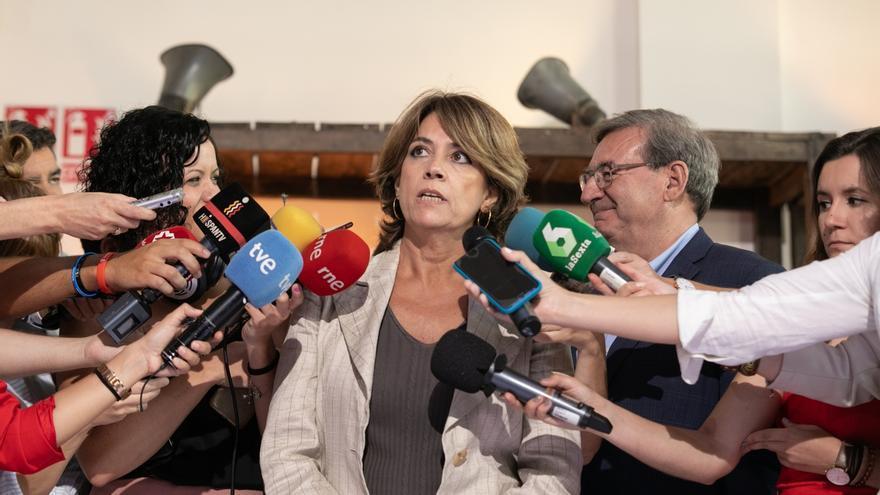 Dolores Delgado participa mañana en Pontejos en un mitín con los candidatos de Cantabria