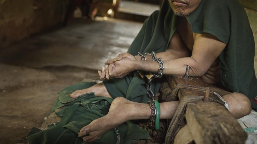 Human Rights Watch ha podido constatar que muchos de estos internos fueron encerrados contra su voluntad y sin ningún informe psiquiátrico
