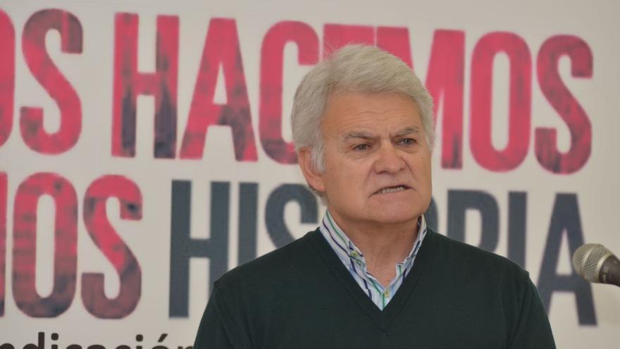 José Luis Gil en la celebración e los 40 años CCOO CLM