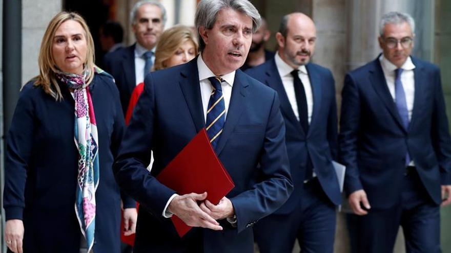Garrido niega que Cifuentes haya planteado ser portavoz del Gobierno regional
