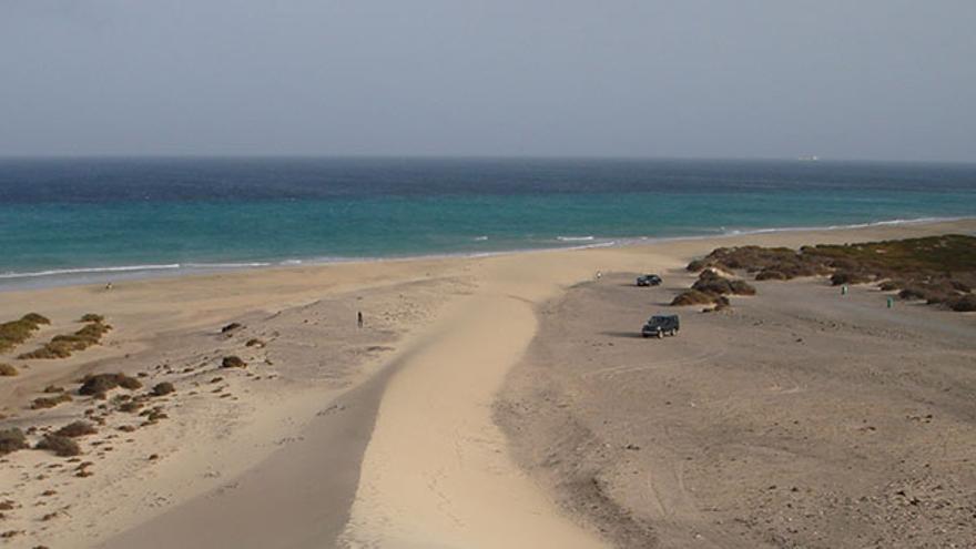 Playa de Sotavento.