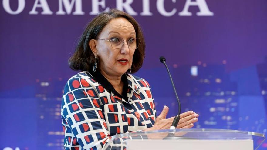 La titular de la Secretaría General Iberoamericana, Rebeca Grynspan.