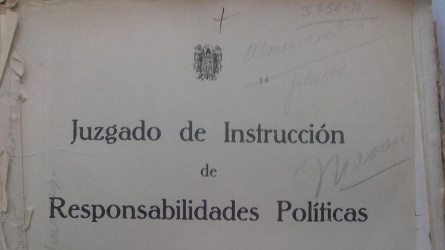 Expediente del Jusgado de Instrucción de Responabilidades Políticas de Almería