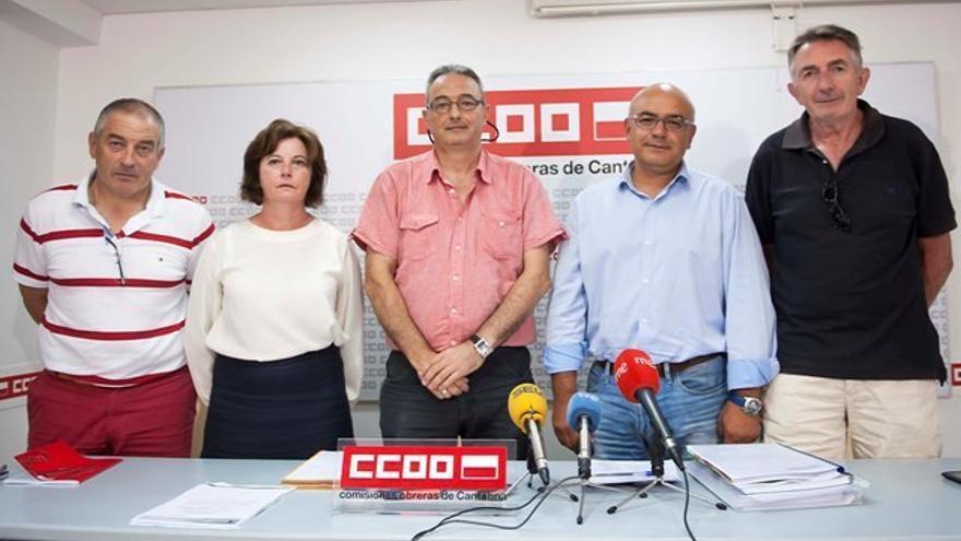 CCOO se personará en el concurso de acreedores de Tinamenor. | Pedro Puente Hoyos
