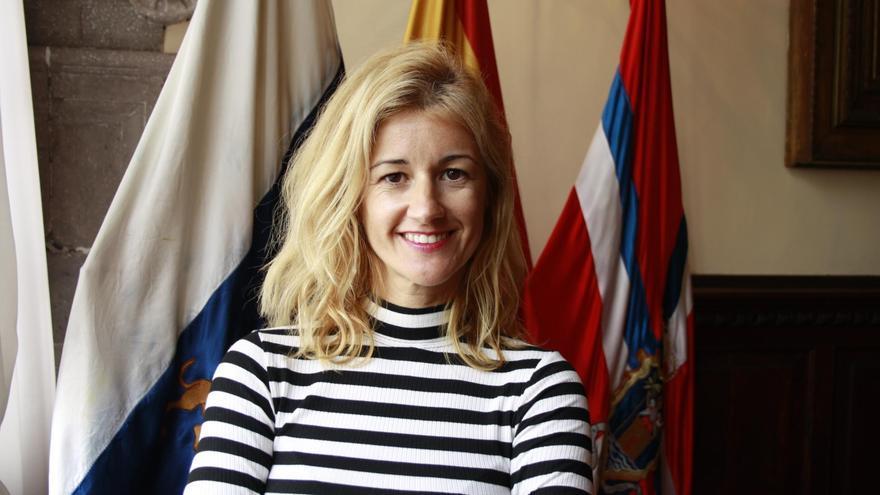 Virginia Espinosa, concejal de Fiestas del Ayuntamiento de Santa Cruz de La Palma