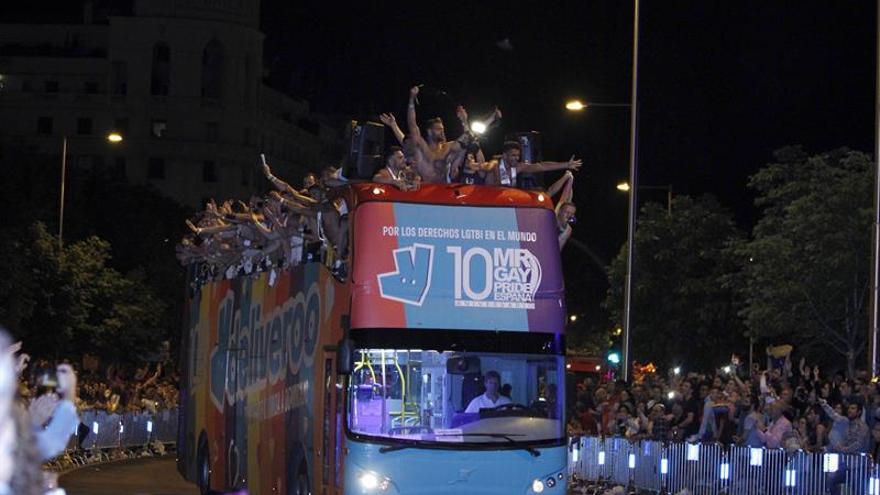 Sin incidentes durante el desfile y la noche más multitudinaria del Orgullo