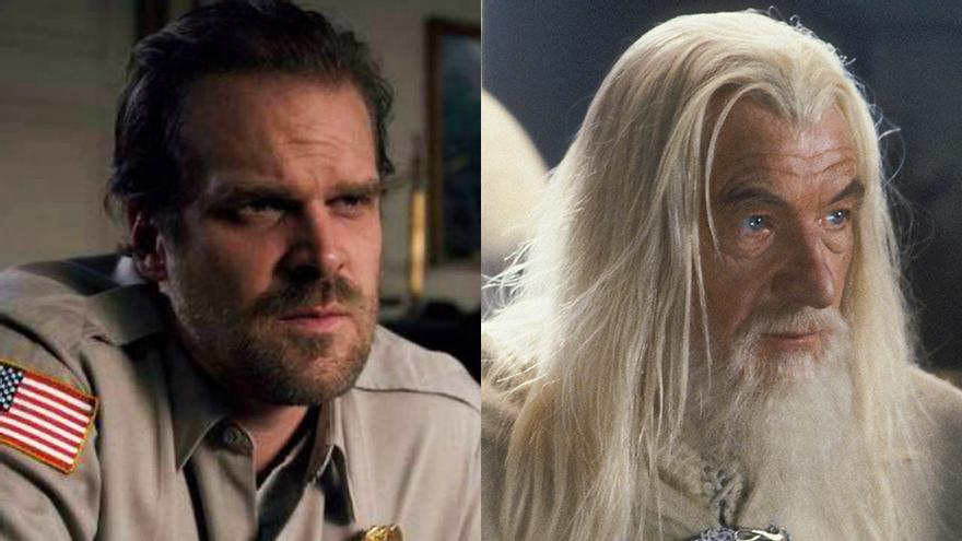 Hopper y Gandalf