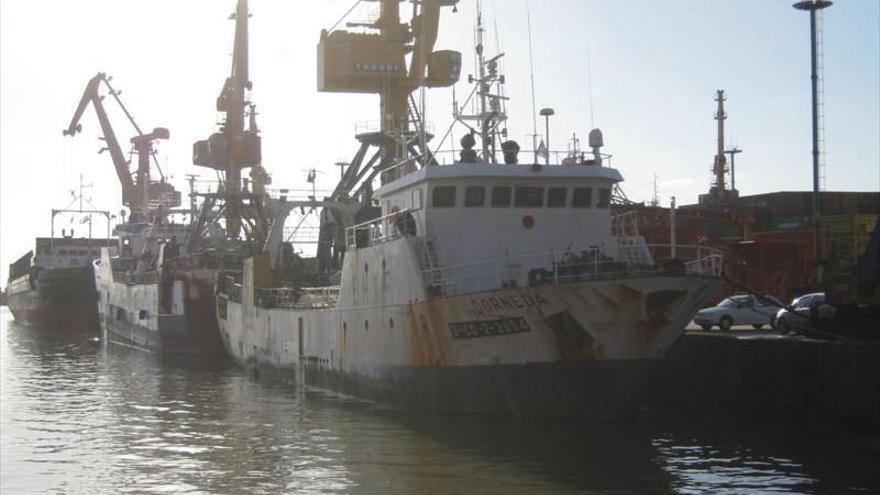 El 'Dorneda', barco de Freiremar hundido