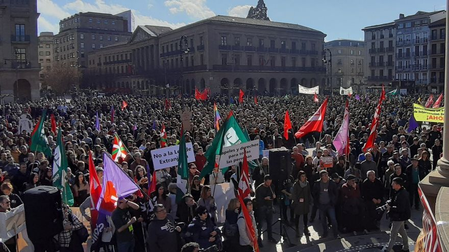 Jornada de huelga en Euskadi. Foto: ELA