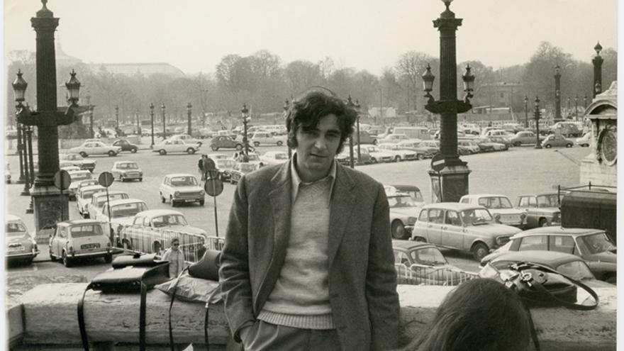 Carlos Pérez en París a principios de los setentas.