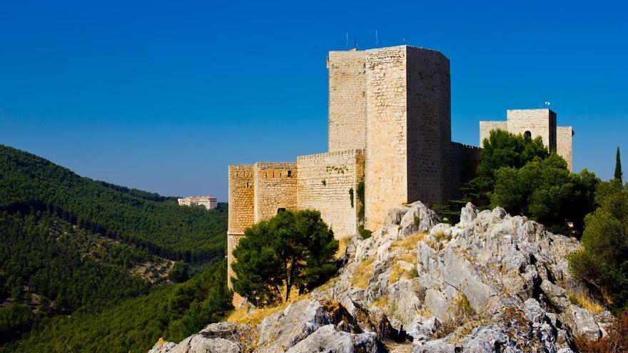 Torres del Castillo de Santa Catalina, en Jaén. VIAJAR AHORA