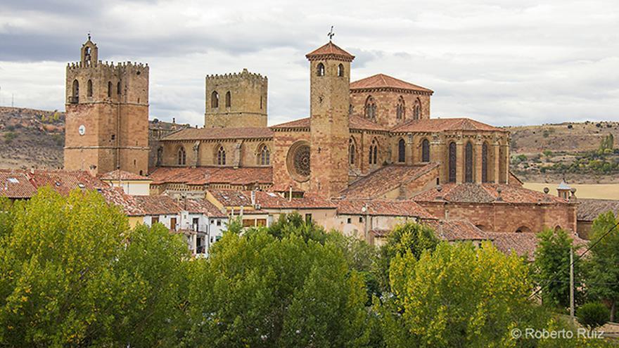 La catedral de Sigüenza destaca como uno de los mejores legados medievales de la ciudad