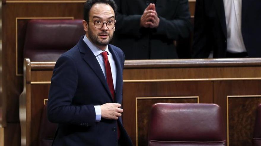 """El PSOE pide que la explicación del fiscal por no imputar sea """"inmediata"""""""