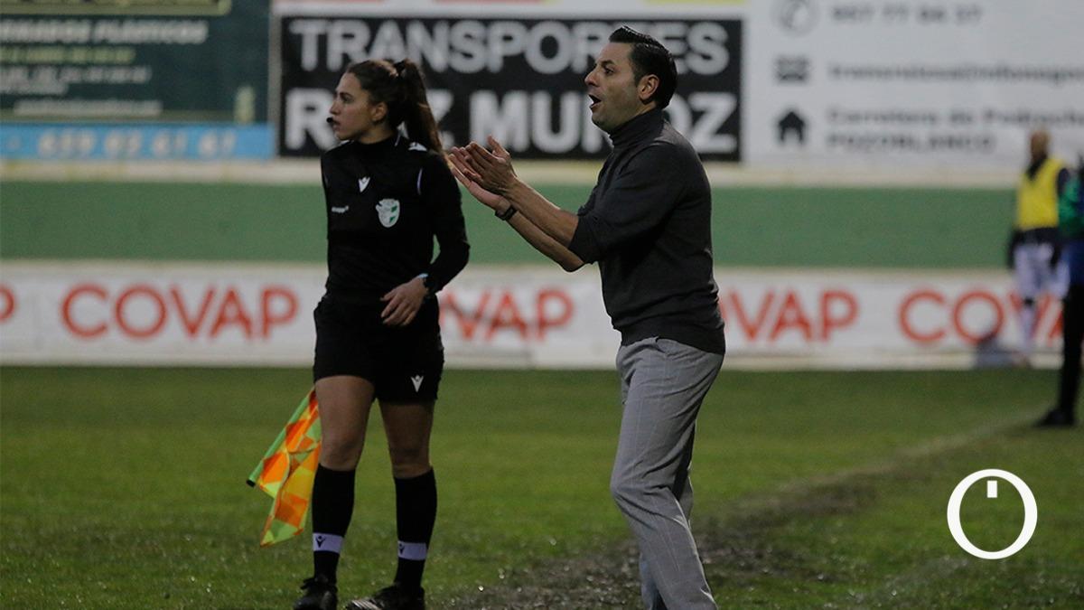 Manuel Fernández, técnico del Pozoalbense