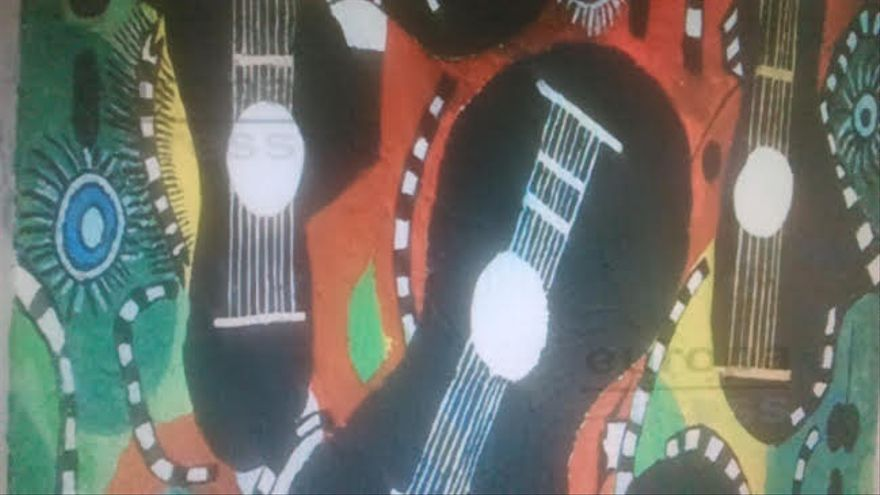 El centro Santa Clara de Portugalete acoge una muestra de pinturas realizadas por personas por enfermedad mental