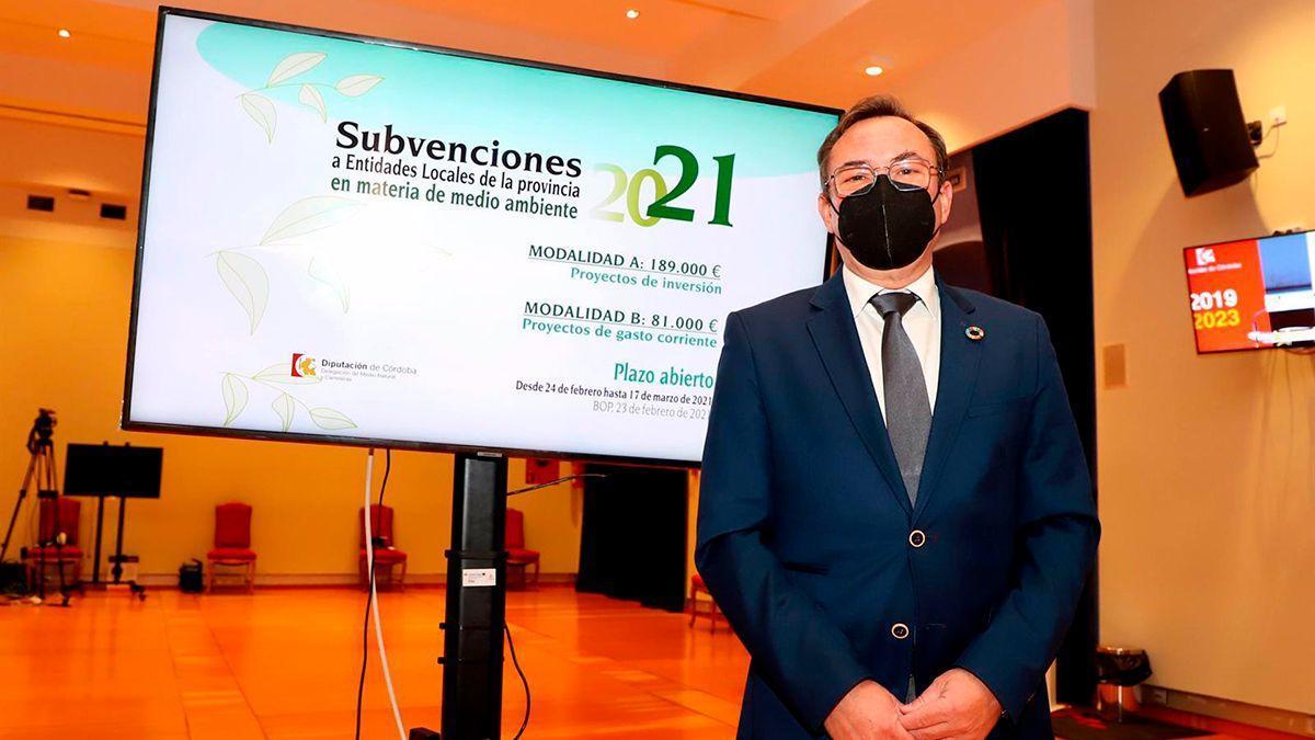 El delegado de Medio Natural de la Diputación de Córdoba, Francisco Palomares.