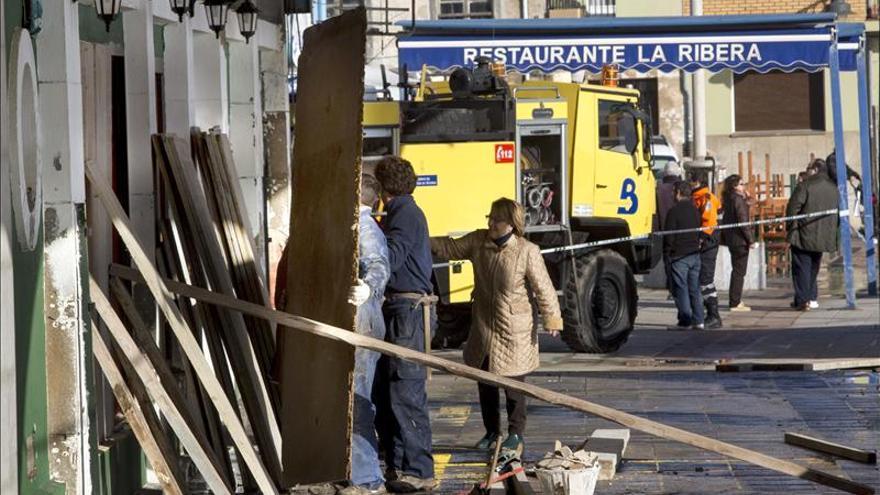 El temporal provoca daños en 16 puertos de Asturias