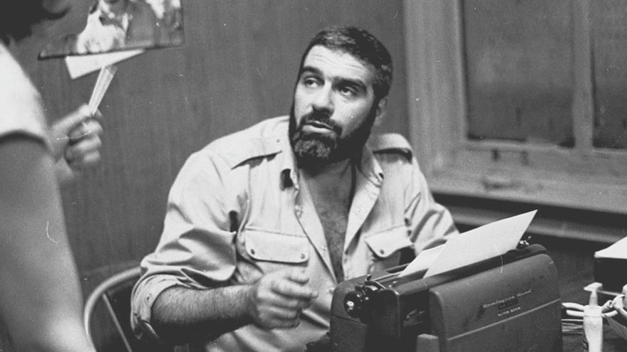 El escritor ruso Sergei Dovlatov.
