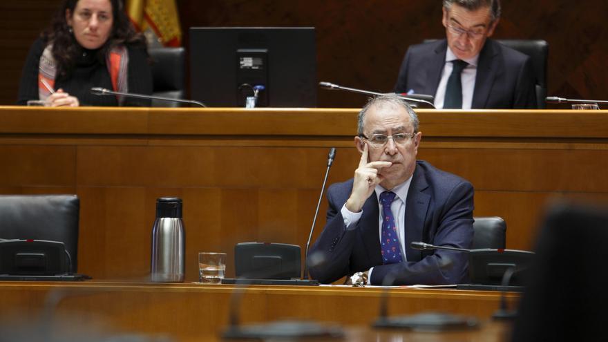 El consejero de Hacienda del Gobierno de Aragón, Fernando Gimeno