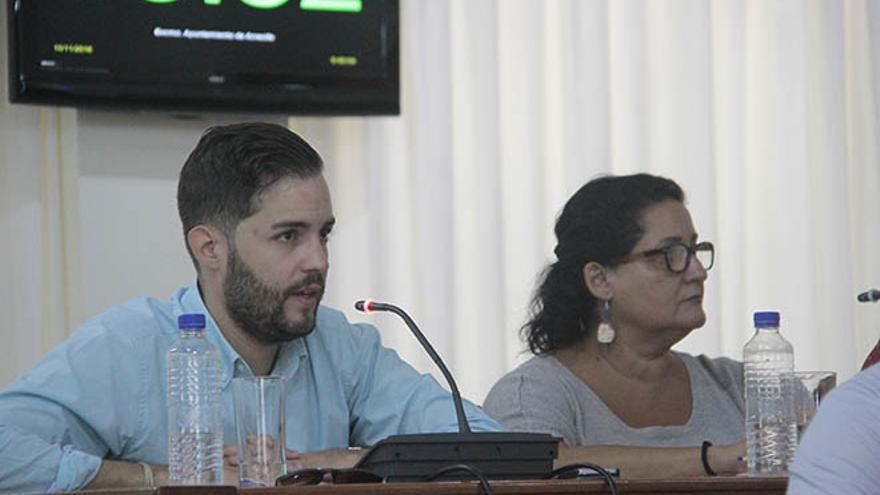Borja Rubio y Coralia Lobato.