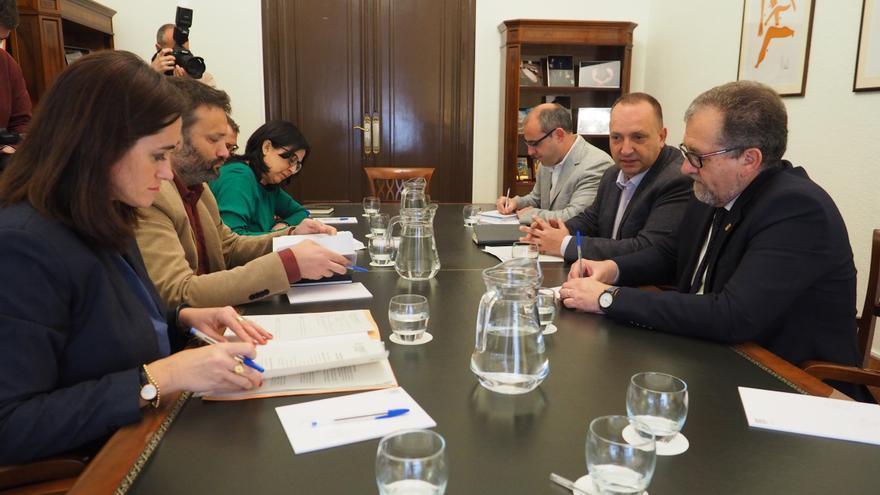 Imagen de la reunión en la Diputación de Castelló
