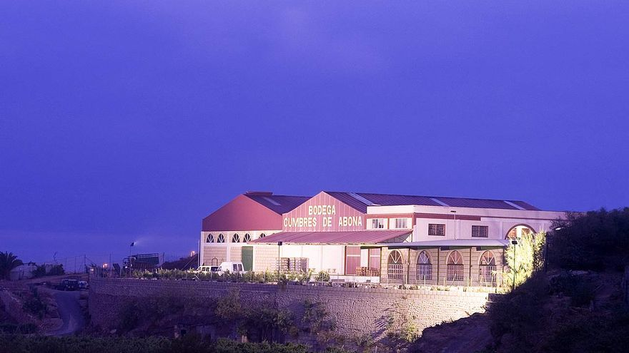 Imagen de las instalaciones de la Cooperativa Cumbres de Abona, en Arico (Tenerife)