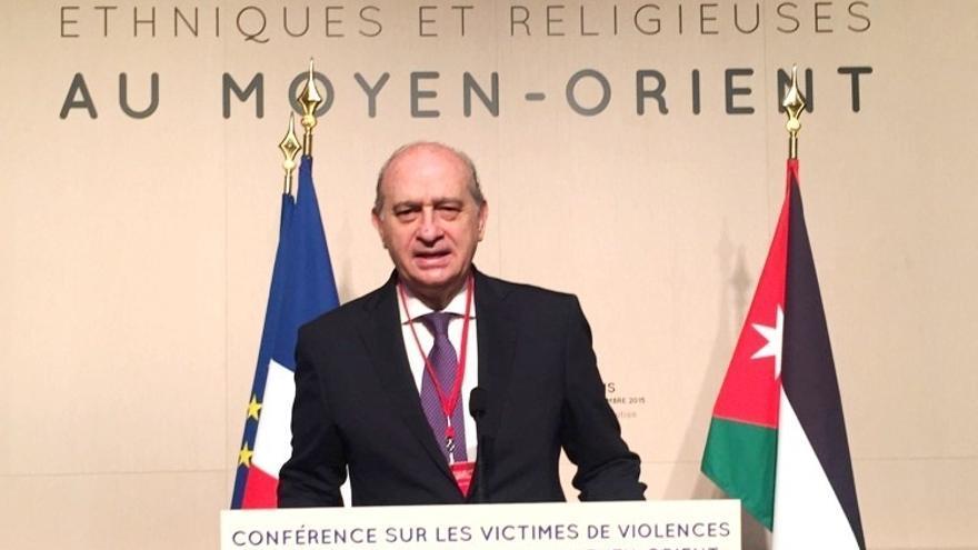 Fernández Díaz no descarta que entre los refugiados pueda haber yihadistas
