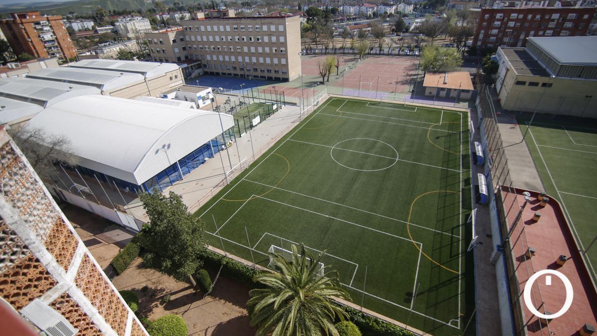 Instalaciones deportivas del colegio Cervantes
