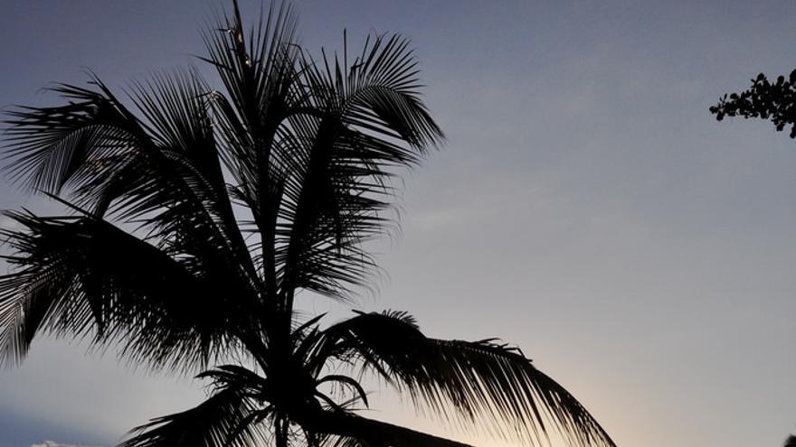 Puesta de sol en Cahuita. Armando Maynez