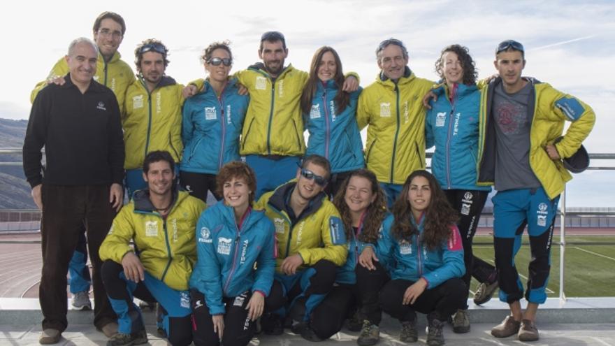 Equipos de Alpinismo de la FEDME.