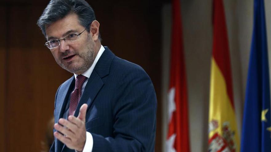 """Catalá asegura que """"nunca"""" y """"en ningún caso"""" ha ordenado nada a la Fiscalía"""