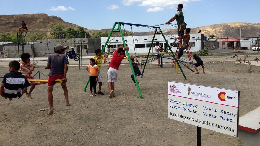 Proyecto de Aecid en el vertedero de La Chureca, en Nicaragua / AECID