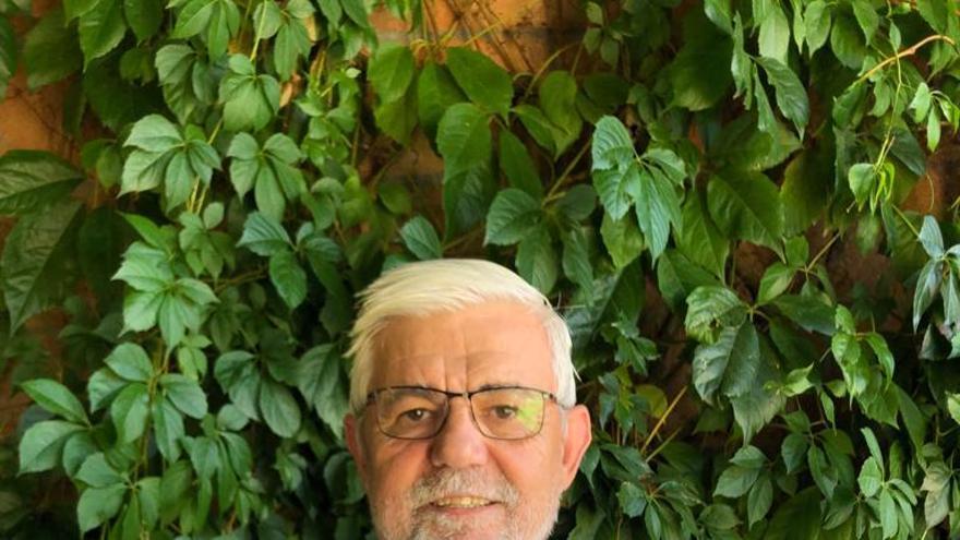 Tomás Ballesteros, autor del libro