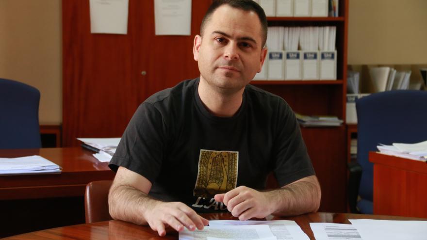 David Llorente, diputado de Podemos en Castilla-La Mancha