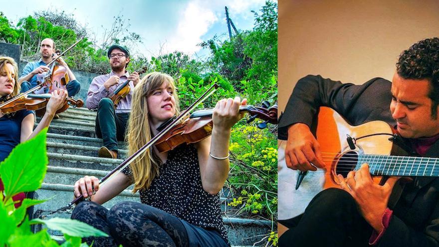 North Sea String Quartet y Javier Infante.