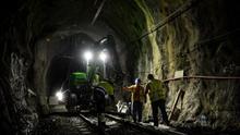 El servicio ferroviario entre Deba y Zumaia se reanuda 1 de junio tras los trabajos por el desprendimiento en Sakoneta