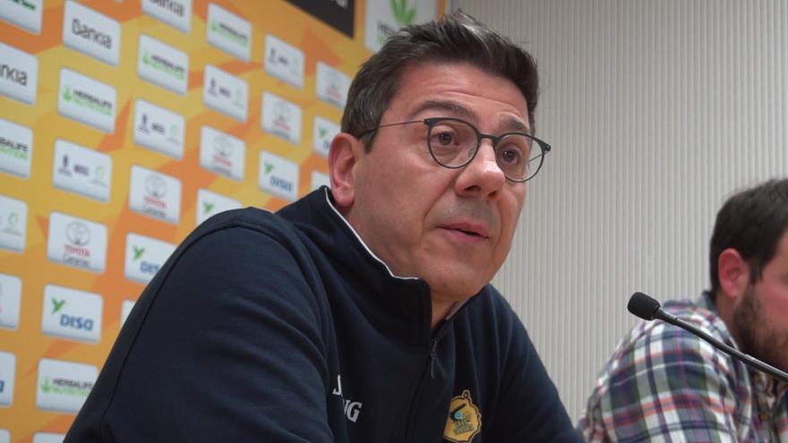 """Katsikaris califica de """"dificilísimo"""" el partido de Zaragoza."""