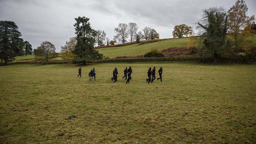 Grupo de saboteadores de la caza. Foto: Tras los Muros