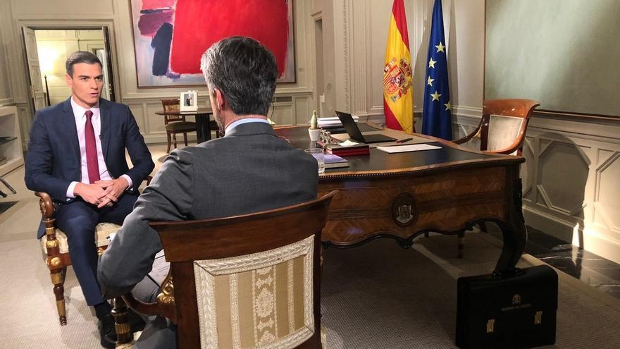 """Sánchez cree que Borrell sería un """"extraordinario candidato"""" para las elecciones europeas: """"Tiene esa condición"""""""