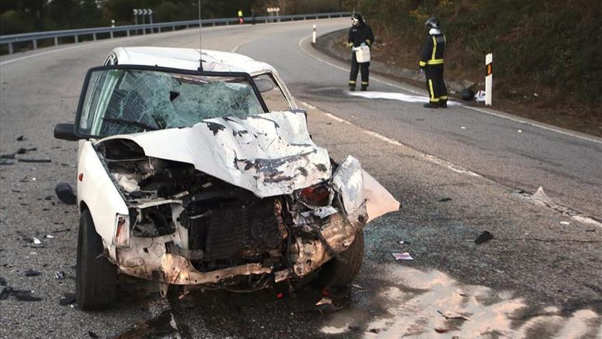 Siete muertos en siete accidentes de tráfico durante el fin de semana