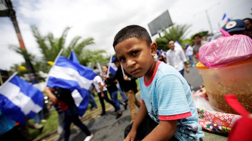 Unicef pide seguridad para los niños en el reinicio de las clases en Nicaragua