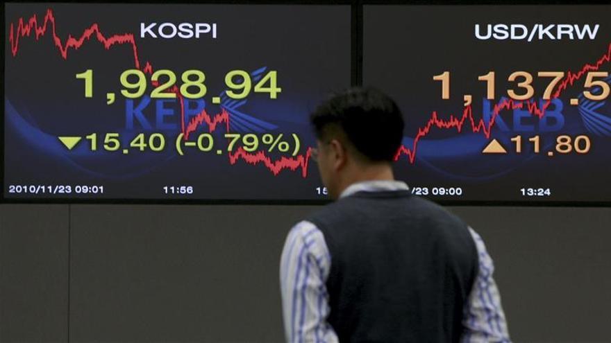 El Kospi surcoreano sube un 0,19 por ciento en la apertura